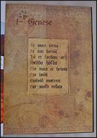 Jedem Kapitel geht ein Titelblatt mit altnordischem Text voraus