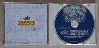 Die CD und die Rückseite des Booklets =)
