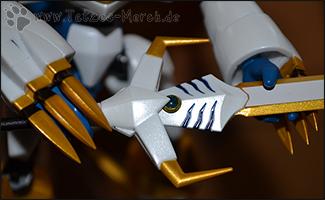 Detailaufnahme des Schafts vom Omega Blade