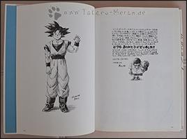 Akira Toriyama bedankt sich bei seinen Fans und Goku winkt zum Abschied =)