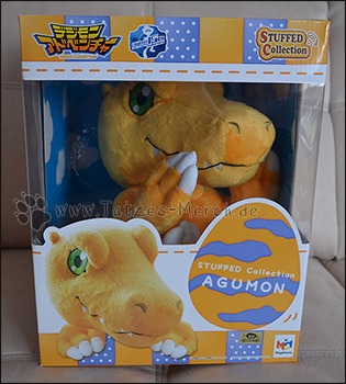 Agumon der STUFFED Collection von MegaHouse
