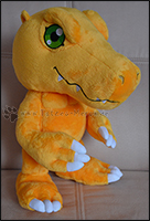 Agumon in normalem Stand