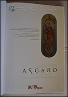 Auf dem Schmutztitel ist ein Auszug aus der Edda abgedruckt und ein Bild der Midgardschlange