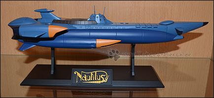 Die Nautilus ist 310mm lang und wiegt fast ein halbes Kilo.