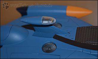 Detailaufnahme der Kapitänskajüte der Nautilus.