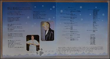 """Die Lyrics zu """"Utaou bokura no Merry Christmas"""", sowie der Cast und andere Mitwirkende der CD"""