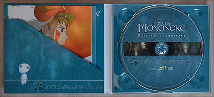 Die CD und das Booklet im Digipak