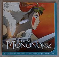 "Das Cover des Booklets zu ""Princess Mononoke"""