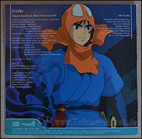 Die Rückseite des Booklets