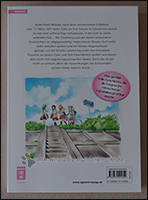 Rückseite des Manga