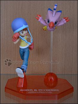 Sora & Piyomon/Biyomon (G.E.M./MegaHouse)