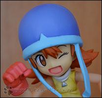 Soras zweiter Gesichtsausdruck hat etwas Neckisches =)