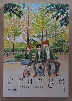 """Das Cover des ersten Bandes von """"Orange"""""""