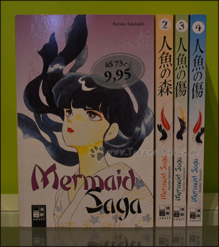 """Mermaid Saga"" Band 1 bis 4 (komplett)"