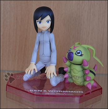 Ichijouji Ken & Wormmon (G.E.M./MegaHouse)