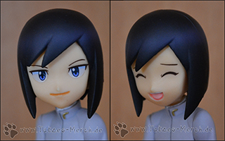 Detailaufnahmen der beiden Gesichter