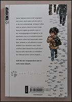 Die Rückseite des Manga