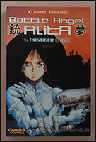 "Das Cover von ""Battle Angel Alita"""