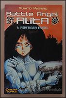 """Das Cover von """"Battle Angel Alita"""""""