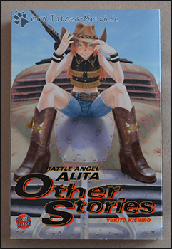 "Das Cover von ""Battle Angel Alita: Other Stories"""