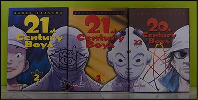 """Zusammen mit dem 22. Band von """"20th Century Boys"""" ergeben sie ein kompletes Bild"""