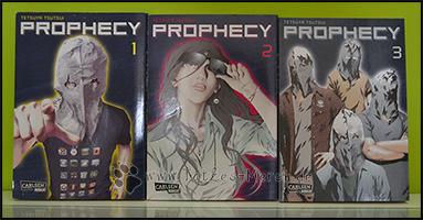Die Cover aller drei Bände