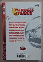 Die Rückseite des Manga mit Inhaltsangabe